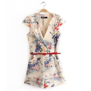 ASOS Floral Romper with pockets